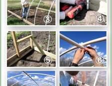 Теплиця з труб пвх: розбираємо порядок будівництва легкої і довговічною конструкції