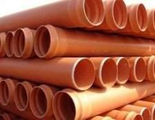 Труби для каналізації зовнішні: види і особливості монтажу