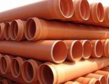 Труби пвх для зовнішньої каналізації: правила вибору і монтажу