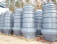 Види і ціна пластикових колодязів для каналізації
