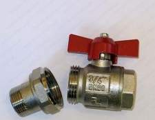 Види кульових кранів itap (ітап) для водопровідних і газових систем