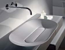 Види умивальників у ванній кімнаті: опис і фото