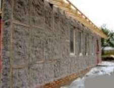 Внутрішня і зовнішня теплоізоляція стін