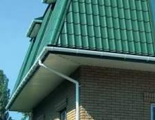 Водостоки для даху: види, фото приклади, установка