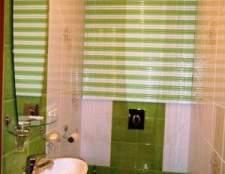 Вибираємо жалюзі в туалет і ванну кімнату