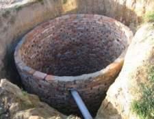 Вигрібна яма з цегли - секрети будівництва